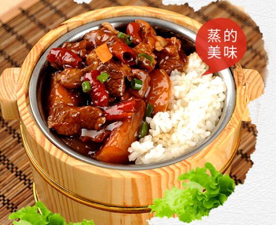 自选式中式快餐