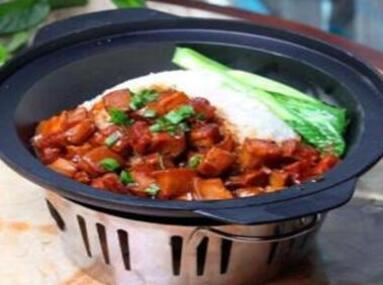 鹅天下老鹅煲米饭