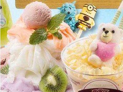 冰雪奇缘冰淇淋