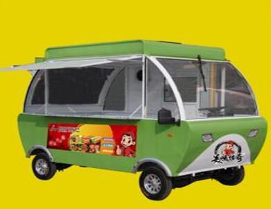 做外卖小吃买什么品牌的小吃车好?