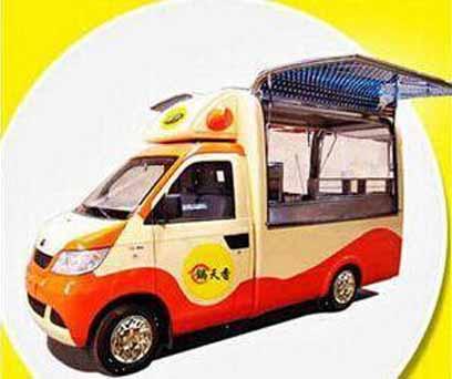 锅天香小吃车在市场上受欢迎吗