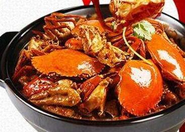 盖式蟹煲快餐
