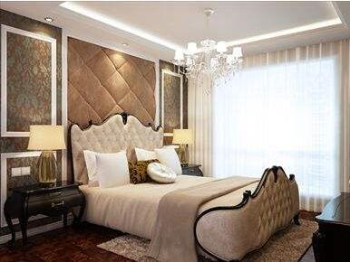卧室墙板装饰效果图