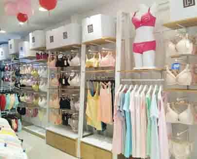 开家小型的汎迷丝内衣店需要多少钱
