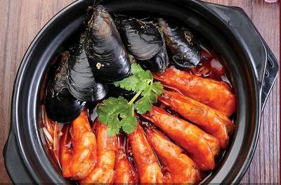 虾得乐烧汁虾米饭