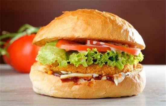 卡方汉堡西式快餐