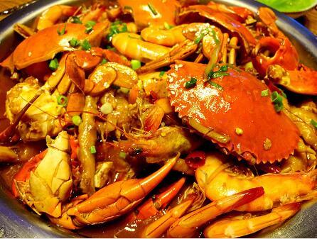 开巴比酷肉蟹煲店怎么样
