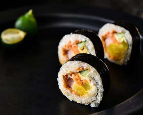 海卷金三顺饭团