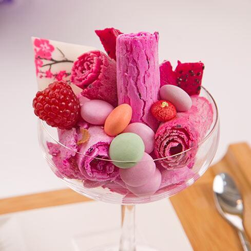 浪漫雪冰淇淋-浪漫彩豆冰淇淋