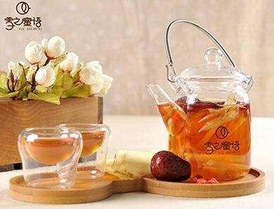 雪之蜜语果茶饮