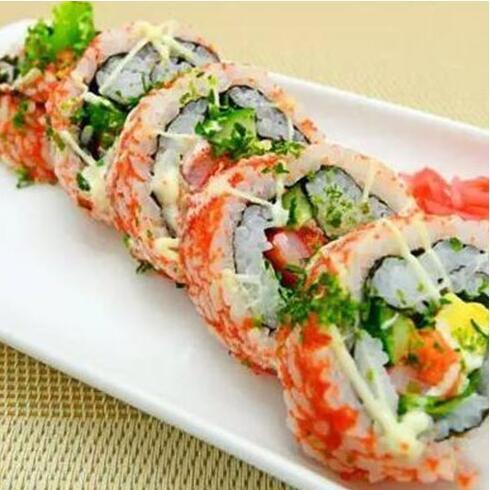 九卷烧饼-翻卷寿司