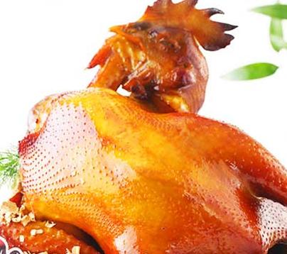 鸡鸭随你小吃-烤鸡
