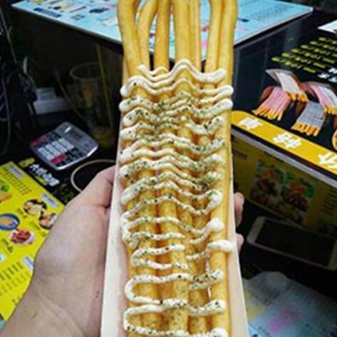 千禧-芥末薯条