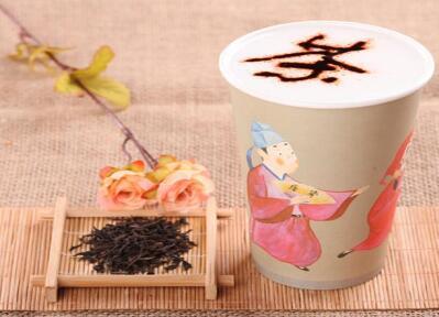 茶公子与茶女仕茶饮
