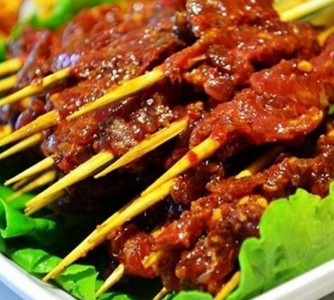 辣巴江-牛肉串