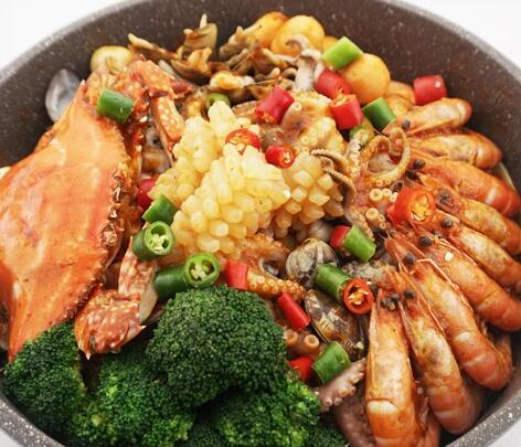 焖掌柜-海鲜焖锅