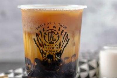 老虎黑糖茶