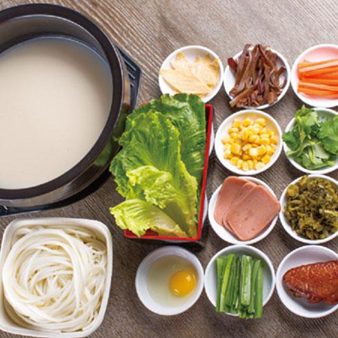 张一碗过桥米线-清汤配料