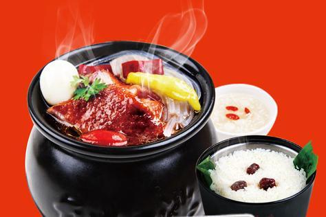 瓦罐香沸小吃快餐