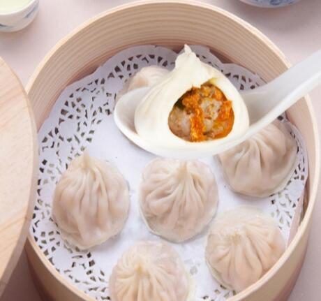 三津-蟹黄汤包