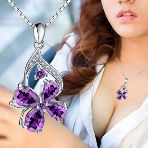 名众优品时尚百货-紫水晶吊坠