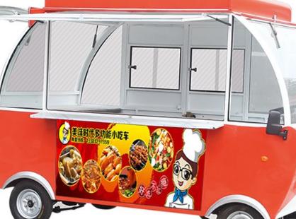美味时代小吃车连锁店加盟费少