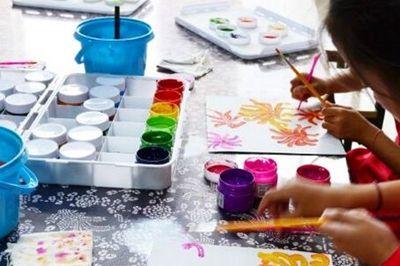 同心画舫儿童创意美术