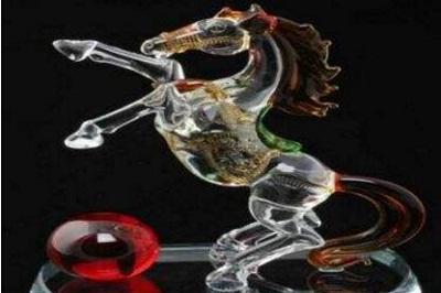 拉丝水晶工艺品
