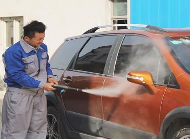 洗车快手桑拿蒸汽洗车