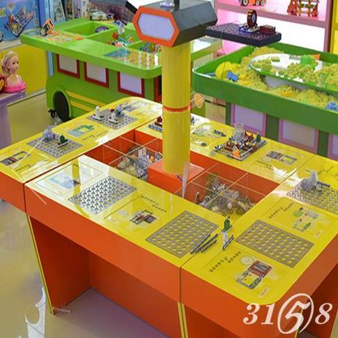 迪士城堡益智兒童玩具