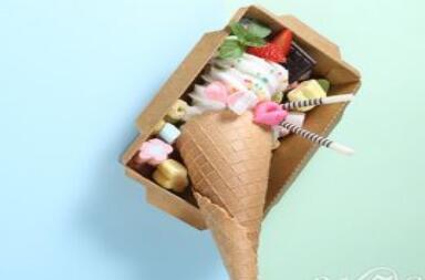 蜜菓冰点冰淇淋