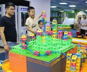 迪吉象益智玩具體驗館開店需要投入多少*