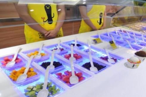 加盟酸奶吧的流程 臻好時凍酸奶流**的很簡單
