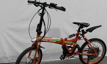 奥力玛智能电单车