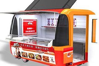 多功能美食车卖什么** 一路飘香小吃车多种美食同时经营