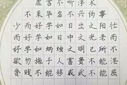 赵汝飞练字加盟 满足消费者练字需求