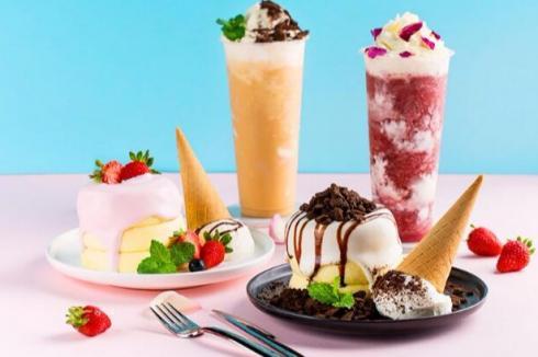 冰雪大王冰淇淋美味诱人 创业投资***