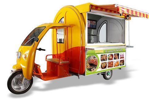 小吃车加盟能**吗 这要看你选择的小吃品牌