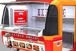 在學校旁邊開小吃車賣小吃掙*嗎