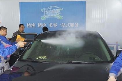 全自动洗车机洗车干净吗 ***吗