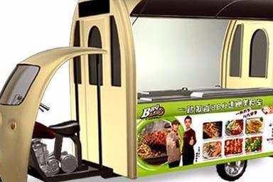 多功能烧烤小吃车加盟费多少