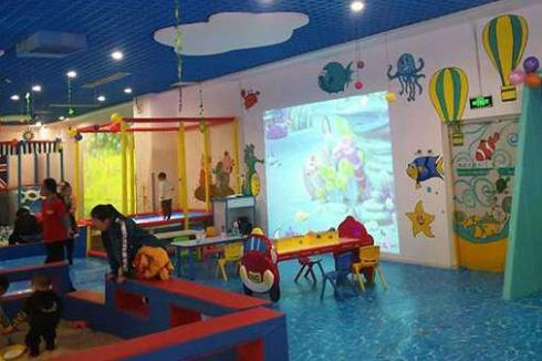 大型室内儿童乐园加盟有哪些项目