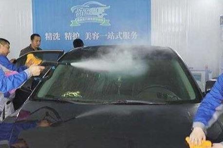 洗车快手桑拿蒸汽洗车怎么样 多少*能投资