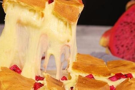 薯榴季水果芝士餅