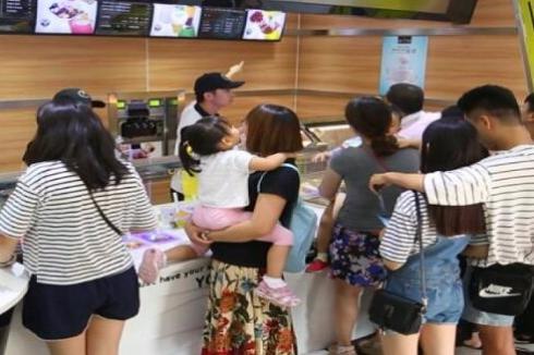 臻好时冻酸奶加盟店开在哪里能有好收获 小区门口怎么样