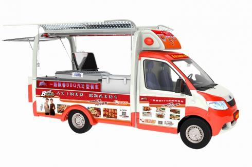 小吃车做什么生意好 一路飘香小吃车多种小吃可做