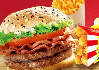 县城开个汉堡店要多少* 谁知道
