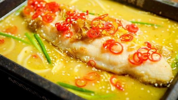 奔波兒灞烤魚快餐