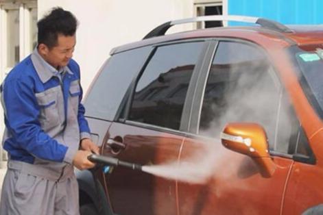 洗车快手桑拿蒸汽洗车如何做到**经营