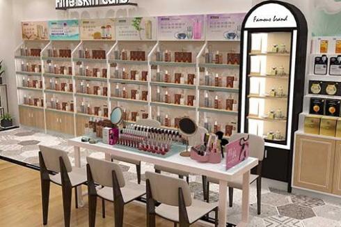 一家化妆品店成本大概多少* DR100投资费用不贵